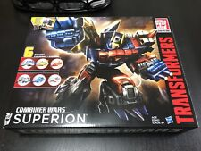 Transformers G2 Generations Combiner Wars Superion MISB