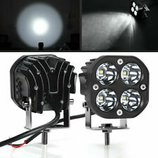 2X 3Inch 40W White LED Work Light Bar Spot Pods Fog Driving Offroad 4WD ATV SUV