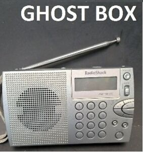 """Radio Shack 20-125 AM/FM/ """"GHOST BOX"""" Radio, Hacked by Time Lord ITC"""