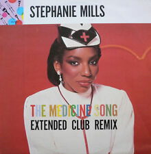 """Stephanie Mills - The Medicine Song Extended Club Remix & Dub Versions 12"""" DISCO"""