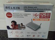 Belkin ADSL Router / Modem Wireless-G 2.4GHz  802.11g 125 high speed mode