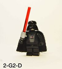 Lego Star Wars Darth Vader Light Up Lightsaber Minifigure Working Battery