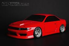 NEW Unpainted APlastics RC Drift body 1:10 Nissan Odyvia S14 style