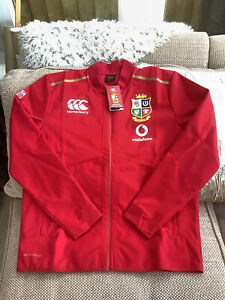 Canterbury British Lions 2021 Rugby Red Anthem Jacket Large Brand New With Tag