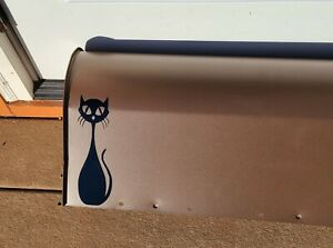 Gibraltar Mailboxes Franklin Medium, Bronze with Atomic Cat Decal, Steel - MCM
