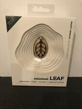 Bellabeat Leaf Nature Health Tracker Smart Jewelry Silver & Wood NEW & Sealed