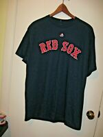 Boston Red Sox Pablo Sandoval #48 Majestic Men's Navy Blue Large T Shirt NWT