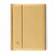 358055 Leuchtturm Einsteckbuch Comfort Gold, A4, 64 chamoisfarbene Seiten
