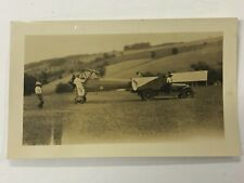 Fp01_013a Found Photos Set of 3 Early Aircraft in Field Camp Hill Pa