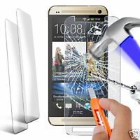 Twin Pack - Genuine Tempered Glass Film Screen Protector for HTC One M8