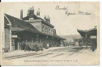 CPA- 39 - LONS-Le-SAUNIER - La Gare