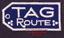 LMH PATCH Railroad  TAG Route  TENNESSEE ALABAMA GEORGIA Railway Herald  3-3/8""