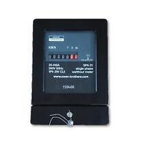 Controllo consumo energetico energia elettrica CONTATORE MONOFASE Sangamo SPA 01 80 Amp