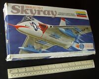 1970s Vintage Lindberg USA US Navy Douglas F4D-1 Skyray Carrier Fighter 1:48.