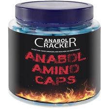 ANABOL AMINO CAPS - 350 Hochdosierte Aminosäuren / L-Arginin Glutamin Tyrosin