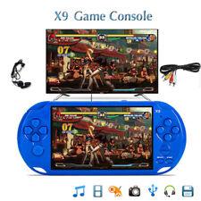 """x9 Rechargeable 5.0"""" écran 8G 32bit Vidéo Console de jeu Portable Caméra Mp3 BS"""