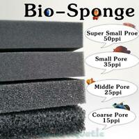Fish Tank Aquarium Biochemical Filter Foam Pond Filtration Sponge Pad Mat Pore