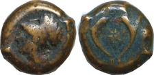 344-336 BC Greek Sicily Syracuse Timoleon Bronze Litra