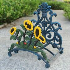 Cast Iron Water Hose Holder Wall Mounted Metal Storage Home Garden Yard Decors