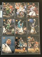 1995-96 Upper Deck Basketball Lot of 27 Cards Includes Gary Payton, Glen Rice