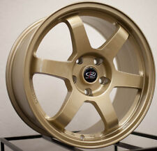 One Rim 17x8 Rota GRID 5x100 +44 Gold Wheel