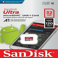 SanDisk Ultra Micro SD 32GB 64GB Class 10 SDHC SDXC Memory Card Adapter 120MB/s