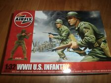 AIRFIX SCALE 1 32 TOY SOLDIERS - WWII US Infantry - A02703 - New in Box