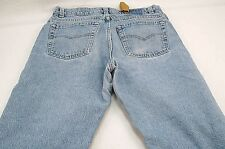 Levi's 550 Men's 32 x 29 (TAGGED 34x30) Relaxed Tapered Denim Jeans -HOLES #S375