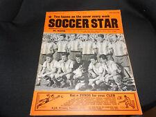 SOCCER STAR MAGAZINE MAY 27TH,1961 - VOL 9 NO.36 - SC.RAPID & SAN LORENZO