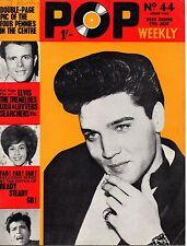 Pop Weekly Magazine 27 June 1964  Elvis Presley  Grazina  Lulu  The Four Pennies