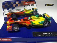 """Carrera Digital 132 Formula E Audi Sport Abt """" LUCAS di grassi, N 11 """" 30705"""