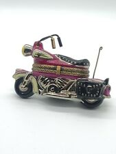 Limoges Peint Main Motorcycle Trinket Box!