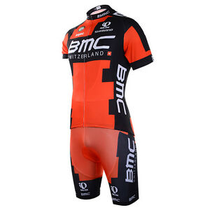 2021 Mens Cycling Team Short Sleeve Bicycle Jersey + Bib Shorts Set - Brand New