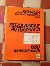 LIBRO REGOLAZIONE AUTOMATICA DI STEFANO STUBBERUD WILLIAMS SCHAUM ETAS 1974