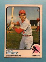 1973 Topps Tony Perez Card #275 Cincinnati Reds