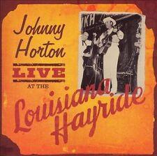 Johnny Horton: Live at the Louisiana Hay CD