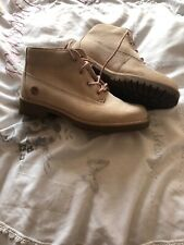 Ladies Timberland Pink Boots Size 4
