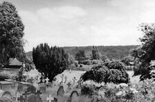 PHOTO  BUCKS 1949 MARLOW SE VIEW ACROSS BRIDGE OVER RIVER THAMES