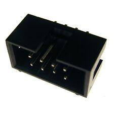 10 econ SL16G1 Stiftleisten 2,54mm gerade 16-pol Pfostenverbinder Jumper 859676