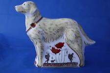 ROYAL CROWN DERBY WAR DOG L/E 500 PAPERWEIGHT - NEW/BOXED