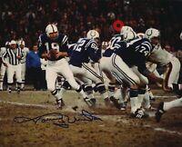 Johnny Unitas Autographed Signed 8x10 Photo ( HOF Colts ) REPRINT