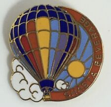 Hot Air Balloon Lapel Pin Shasta Beverage vintage pin, balloon fiesta