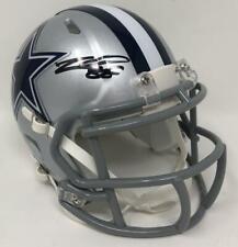 CEEDEE LAMB Autographed Dallas Cowboys Speed Mini Helmet FANATICS