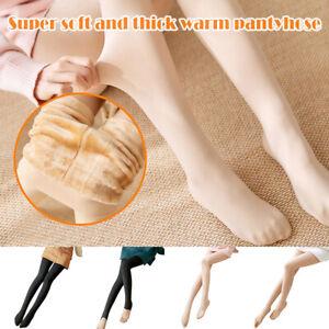 Legs Fake Translucent Warm Fleece Pantyhose US