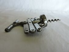 Zig-Zag Style Vintage Bar Ware Wine Bottle Corkscrew