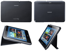 Genuine Samsung Abatible Estuche Galaxy GT N8000 N8010 Original Tablet NOTE cubierta de libro