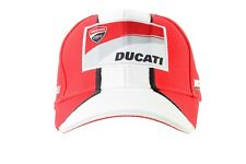 DUCATI CORSE RACING PADDOCK CAP OFFICIAL DUCATI SUPERBIKE REPLICA HAT