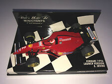 Minichamps F1 1/43 FERRARI 1996 LAUNCH VERSION SHOW CAR - EDDIE IRVINE 3333pcs