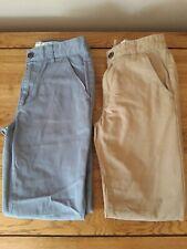 2 x George Slim Leg Trousers - Age 9-10 - Worn Once