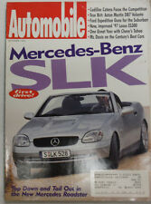 Automobile Magazine Mercedes-Benz SLK September 1996 051615R2